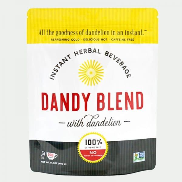 Dandy Blend is a caffeine-free herbal beverage and coffee alternative