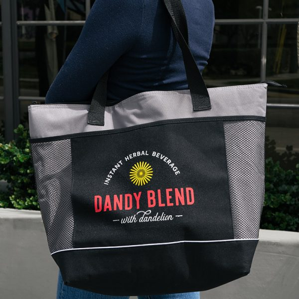 insulated tote bag by dandy blend
