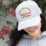 woman wearing dandy blend hat