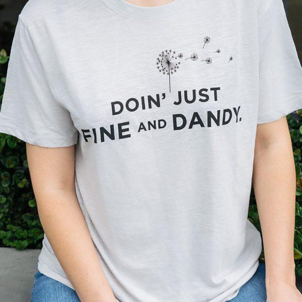 dandy blend t-shirt front