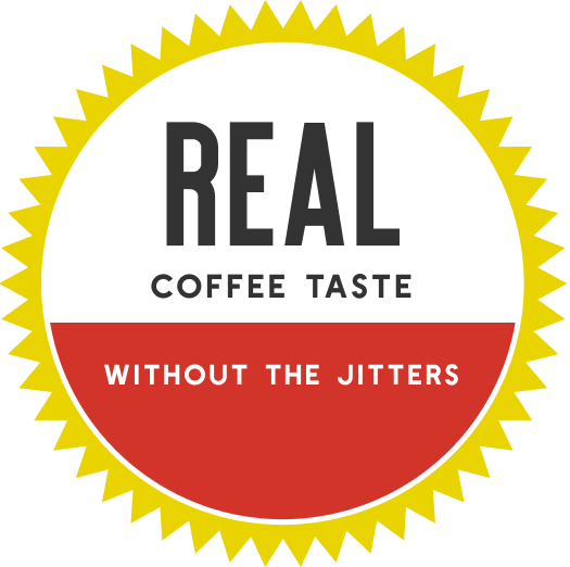 Real coffee taste without the jitters
