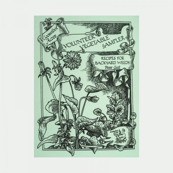Volunteer Vegetable sampler book cover