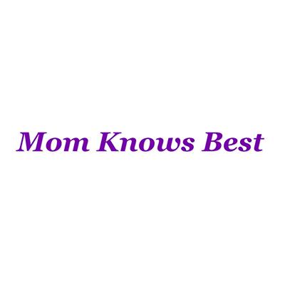 mom knows best logo