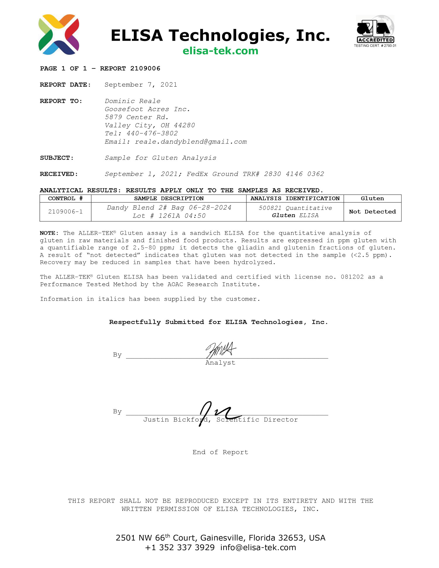 gluten-certification
